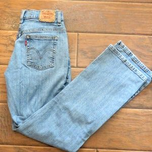 Vintage Levi's 550 Bootcut Size 8 Short